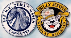 [Billy Jones Wildcat Railroad Company Logo]