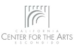 [Museum, California Center for the Arts Logo]