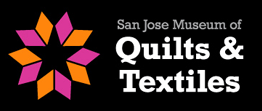 [San Jose Museum of Quilts & Textiles Logo]
